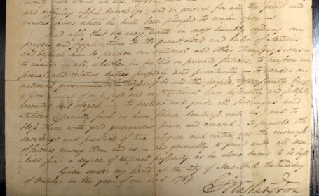 document cu Ziua Recunostintei