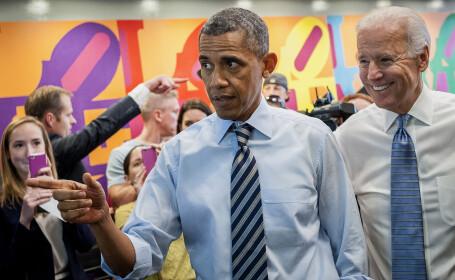 Bacsisul urias lasat de Barack Obama intr-un fast food, dupa o intalnire cu Joe Biden