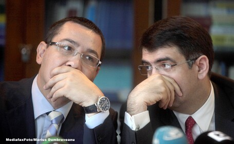 Robert Cazanciuc, Victor Ponta