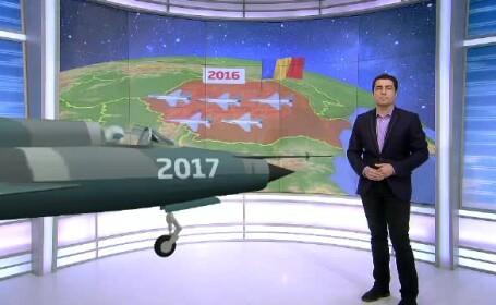Cu 30 de MIG-uri picate in 20 de ani, Armata isi schimba avioanele. Cat platim pentru 12 aparate F16