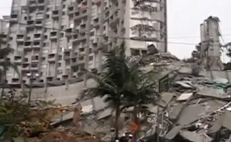 Dezastru in Columbia. O persoana a murit si alte 11 sunt disparute, dupa prabusirea unui bloc. VIDEO