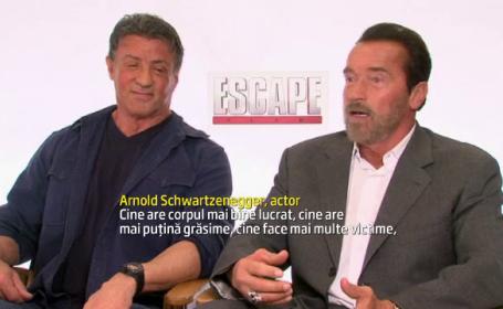 Sylvester Stallone si Arnold Schwarzenegger