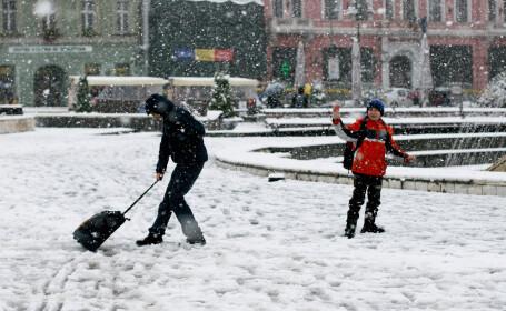 Specialistii anunta temperaturi de -20 de grade. Dupa 20 noiembrie e posibil sa ninga in toata tara