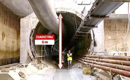 Imagini din subteranul dominat de Sfanta Varvara. Cum arata tunelurile de metrou din Drumul Taberei