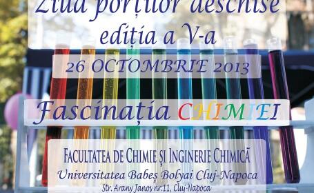 Ziua Portilor deschise la Facultatea de Chimie si Inginerie Chimica UBB
