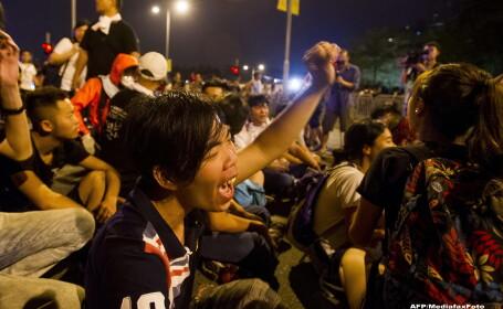 Proteste la Hong Kong. Liderii studentilor contestatari au acceptat oferta de dialog a sefului Executivului