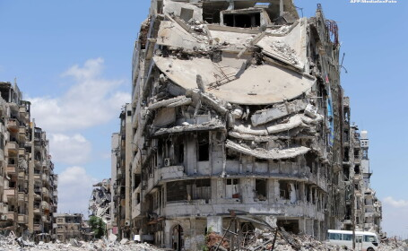 Orasul Homs, Siria
