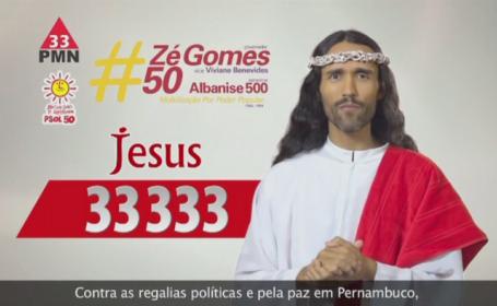 Alegerile prezidentiale din Brazilia, pline de culoare. Iisus este personaj de campanie in tara cu vot obligatoriu