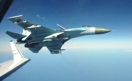 Gest provocator al Rusiei. Un avion de vanatoare a zburat la cativa metri de un avion suedez de interceptare a semnalelor