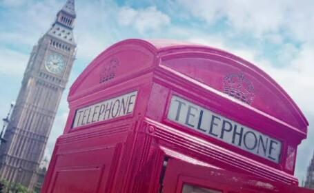Cabina telefonica in Londra