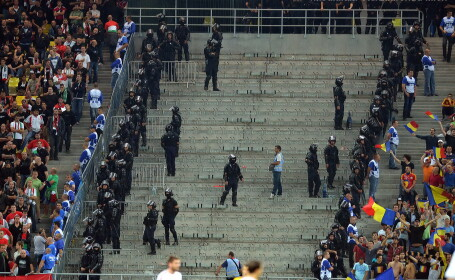 Jandarmi pe Arena Nationala