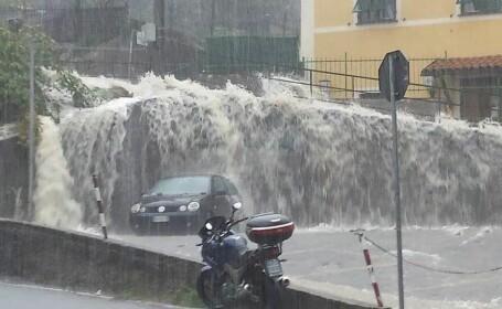 Inundatii in Genova