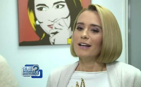 Andreea Esca a povestit la CSID cum negociaza zilnic cu Aris si cu Alexia. \