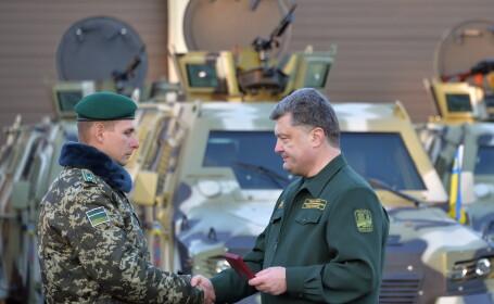 Criza in Ucraina. Presedintele Petro Porosenko l-a destitut pe ministrul Apararii Valeri Gheletei pentru \