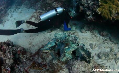 Misterele corabiei din Antikythera. Ce au gasit scafandrii pe \