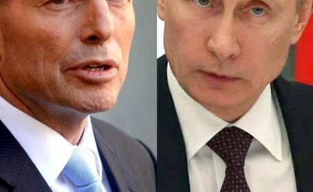 Premierul Australiei l-a amenintat pe presedintele Rusiei inainte de Summitul G20: \