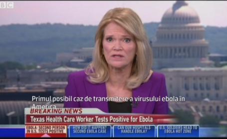Anuntul care le-a dat fiori americanilor. Primul caz de infectie cu Ebola in SUA a fost confirmat oficial