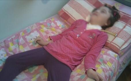 O fetita grav bolnava traieste de 7 ani doar pentru ca medicii incalca legea. Copiii pentru care statul nu are nicio solutie