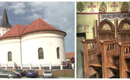 Satul din Sibiu unde un loc in biserica costa cat o garsoniera in Capitala. Stranele sunt licitate dupa ce moare titularul