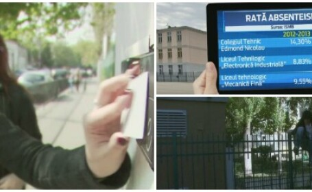 Introducerea cartelelor de acces NU a rezolvat problema absentelor. Numai in Bucuresti, elevii au chiulit de 7,3 mil. de ori