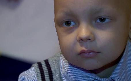 Alin are nevoie de ajutor. Povestea sfasietoare a unui copil de cinci ani care se lupta cu o boala cumplita