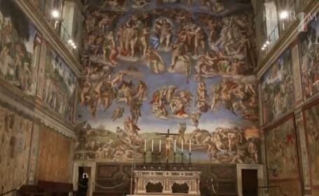 Papa Francisc permite inchirierea Capelei Sixtine pentru evenimentul privat al unei companii