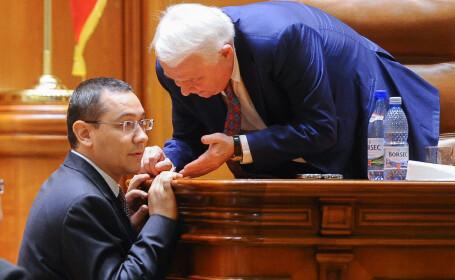 Viorel Hrebenciuc, Victor Ponta