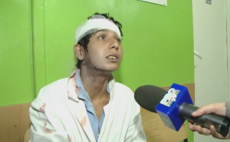 O femeie din Timisoara s-a trezit cu o bucata de tavan in cap, la Spitalul de Copii: \