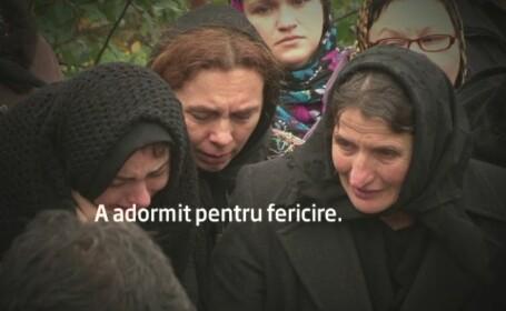 Preotul ucis de o soferita bauta, inmormantat. Prietenii si rudele spun ca un blestem s-ar fi abatut asupra familiei sale