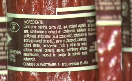 40% din mezelurile vandute in Romania sunt facute \