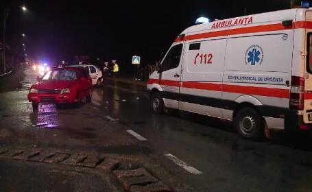 Grav accident rutier in Harghita. Doua persoane au murit si alta a fost ranita, dupa ce masina in care se aflau s-a rasturnat