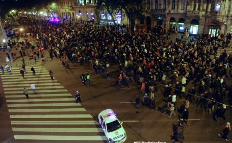 Proteste in Ungaria