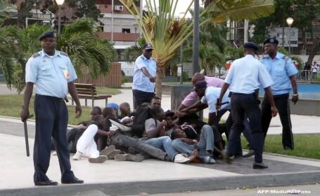 Proteste in Luanda, Angola