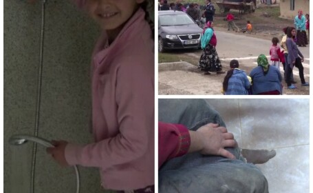 Francezii vor sa-i invete carte si sa se spele pe copiii romilor din Maramures. Localnic: \