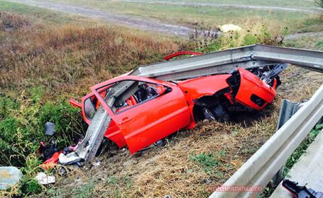accident Crasna FOTO: Vremea Noua