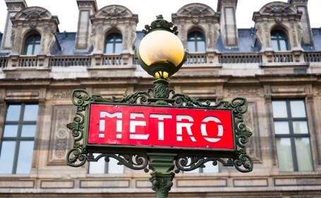 statii de metrou Paris