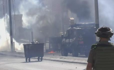 Violentele din Israel si teritoriile palestiniene iau amploare. 7 morti si zeci de raniti in atacurile din ultimele saptamani