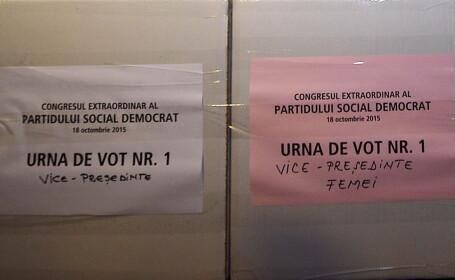 PSD este reclamat la CNCD pentru felul in care au fost tratate femeile la congres. Buletinele de vot pentru femei au fost roz