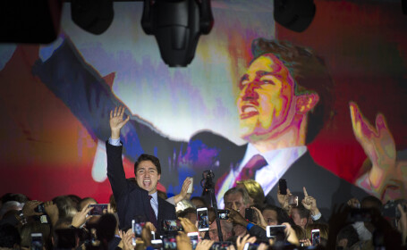 Justin Trudeau - getty
