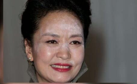 Prima-doamna a Chinei, gafa machiaj