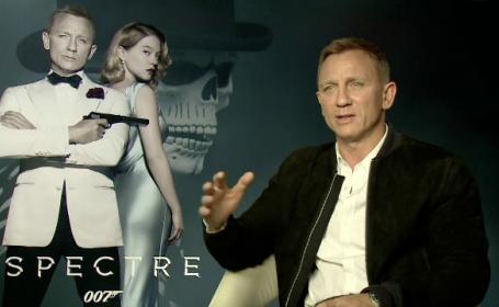 Daniel Craig, Spectre - stiri