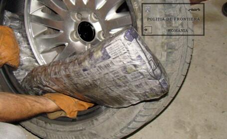tigari in pneurile masinii