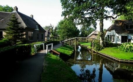 Giethoorn, satul fara strazi si masini