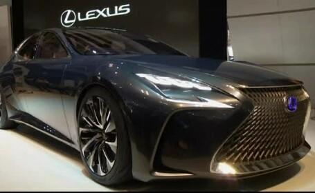 Cea mai spectaculoasa aparitie la Salonul Auto de la Tokio este un model Lexus. Toyota a prezentat o serie de masini-concept