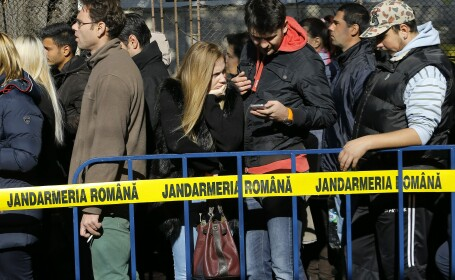 Mobilizare impresionanta in centrele de donat sange din Romania. \