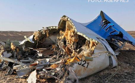 Zi de doliu national in Rusia. Autoritatile continua ancheta in cazul avionului prabusit in desertul Sinai