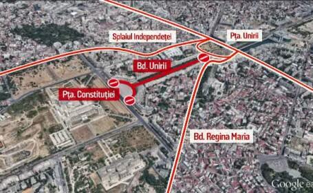Traficul rutier va fi restrictionat sambata si duminica, in Capitala. Ce se intampla in weekend in Bucuresti