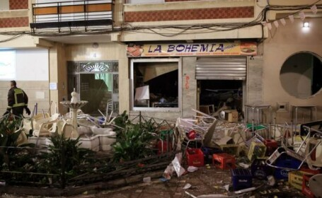 Explozie intr-un restaurant din Velez-Malaga, Spania: 77 de persoane sunt ranite. Primar: \