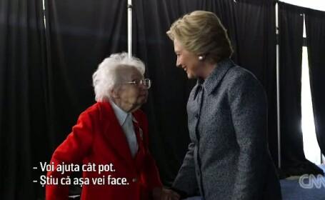 Cine este femeia care a putut deja sa voteze pentru Hillary Clinton fara sa mai astepte pana la alegerile din 8 noiembrie