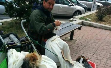 Un italian a ajuns sa cerseasca in Romania. \
